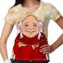 Camiseta Caverna Do Dragão Mestre Dos Magos Feminina