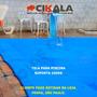 Tela Para Piscina Cobertura Rede Proteção Criança 10x6 M