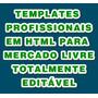 Linda Template P/anúncio No Mercado Livre Fácil Ediçâo Html