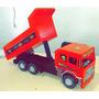 Caminhão Caçamba De Madeira Artesanal - Brinquedo Infantil