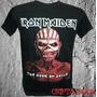 Camiseta Banda Rock Iron Maiden Cd Novo - The Book Of Souls