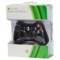 Controle Wireless Xbox 360 Preto E Branco Lacrado Original