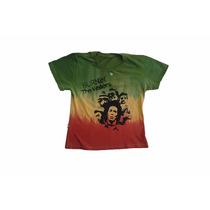 Baby Look Feminina Do Bob Marley Cor Do Reggae