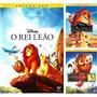 Trilogia Reia Leão - 3 Filmes - Rei Leão 1, 2 E 3 Lacrado