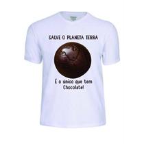 Camisas Camisetas Preserve Natureza Ecológica Personalizada.