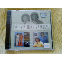 Cd - João Mineiro E Marciano Dois Em Um 1975 E 1988