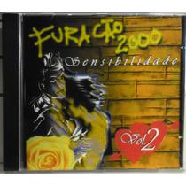 Funk Black Romântico Cd Furacão 2000 Sensibilidade Vol 2