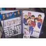 Volta As Aulas One Direction Caderno 1m Chaveiro Adesivos