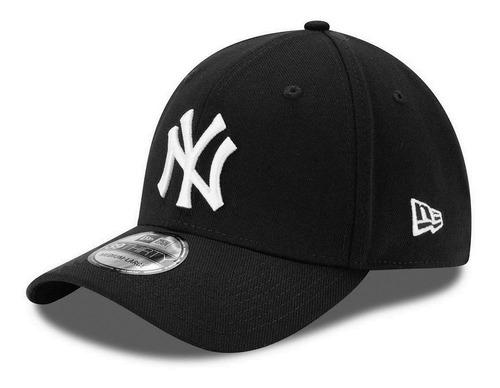 2248d13530f17 Boné New Era Aba Curva Fechado Mlb Ny Yankees Colors Preto