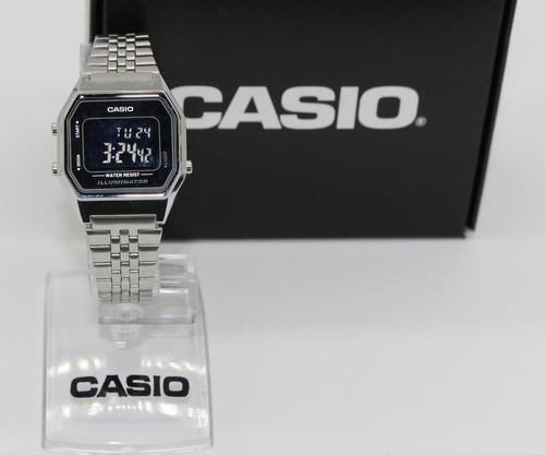 0915633ddc1e Relógio Casio Vintage Digital Feminino La680-1b Promoção