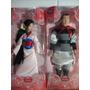 Mulan E Li Shang Bonecos Originais Disney Articulados 30 Cm