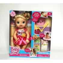 Baby Alive Hora De Comer Loira Hasbro