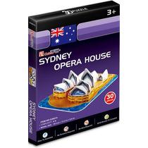 Quebra-cabeça Importado (6805) Puzzle 3d - Opera House 30pcs