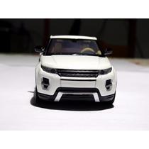 Miniatura De Carros Evoque Land Rover 1:32 Branco Led E Som
