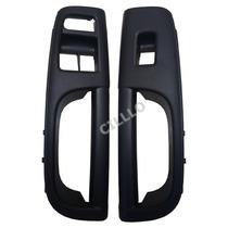 Par Moldura Puxador Porta Vw Gol G5 Dianteira Vidro Elétrico