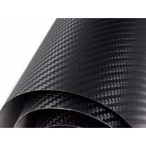 Adesivo Envelopamento Carro Moto Fibra De Carbono 0,50x1,37