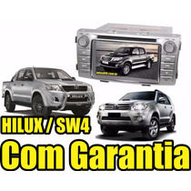 Central Multimídia Hilux Original Dvd Gps Tv Di Bt Phonelink