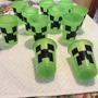 50 Copos Descartáveis 200 Ml Creeper Minecraft