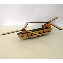 Quebra Cabeça 3d - Coleção Aviões - Helicóptero Sea Knight
