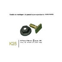 Presilhas/grampos P/ Alargador De Paralama Corsa Kit 6pçs