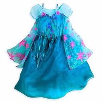 Fantasia Vestido Frozen Elsa E Anna Modelo Novo 2015