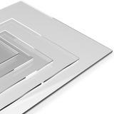 Chapa Placa De Acrílico Puro Corte Sob Medida 3mm Espessura