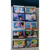 Cards De Dragon Ball Z - Lote Com 10