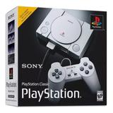 Playstation One Classic Ps1 - Edition Mini Novo - Original