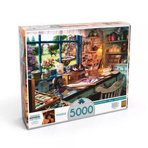 Quebra-cabeça Ateliê 5000 Peças - Grow