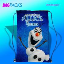 50 Mochilinhas Personalizadas Frozen Rj - Frete Gratis
