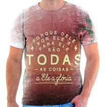 Camisa, Camiseta Gospel Moda Evangélica Frases Cristã 81