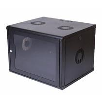 Rack Servidor Fechado De Parede Preto 16u 19'' 570mm S/ Sold
