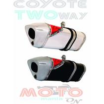 Escape / Ponteira Coyote Trs 2 Two Way + Tenere 250 - Honda