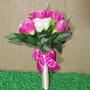 Buquê Bouquet Casamento Noiva Ou Daminha Rosas Em Botão