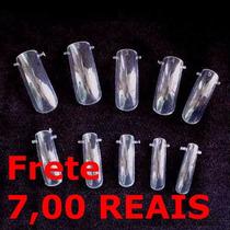 20 Moldes Express F1 Dual Form Unhas De Porcelana Acrilica