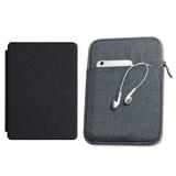 Capa Case Novo Kindle Paperwhite Preta + Bolsa E + 4 Brindes