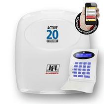 Central De Alarme - Monitorável Jfl Active-20 Ethernet