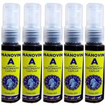 5 Nanovin A Cavalo De Ouro Shampoo Bomba Crescimento Cabelo
