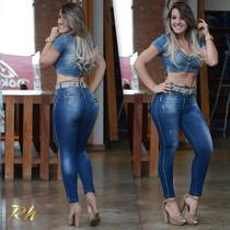 Calça Rhero Jeans Estilo Pit Bull Com Bojo Modela Bumbum !
