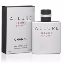 Perfume Chanel Allure Homme Sport Edt 100ml Lacrado
