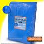Lona Azul 10x4 Cobertura Reforçada Telhado Piscina 300 Micra