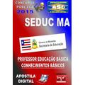 Apostila Concurso Seduc Ma Professor Conhec Basico 2015