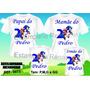 Kit Camiseta Personalizada Aniversario Sonic E Mario