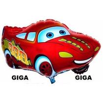 Balão Metalizado Carros Relampago Mcqueen Kit Com 10