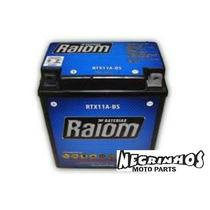 Bateria Raiom Selada Cb 400-450 Rtx11a-bs Negrinhos Moto