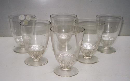 bfff8eaf0f5 Lalique - Conjunto De 06 Taças Em Cristal - França