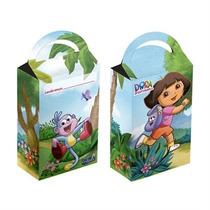 Caixa Surpresa Festa De Aniversário Dora Aventureira 8u