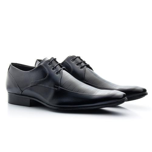 e78ac75a4 Sapato Estilo Italiano Bigioni Com Cadarço Frete Grátis
