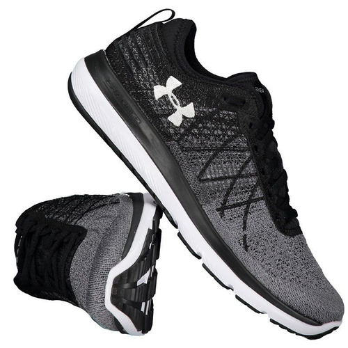 e9f1c8b5357 Tênis Under Armour Speedform Fortis 3 Feminino Grafite. R  339.9