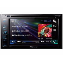 Dvd Player Pioneer Avh-278bt 2 Din 6,2´ Usb Bluetooth Iphone